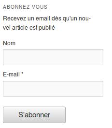 Abonnement news